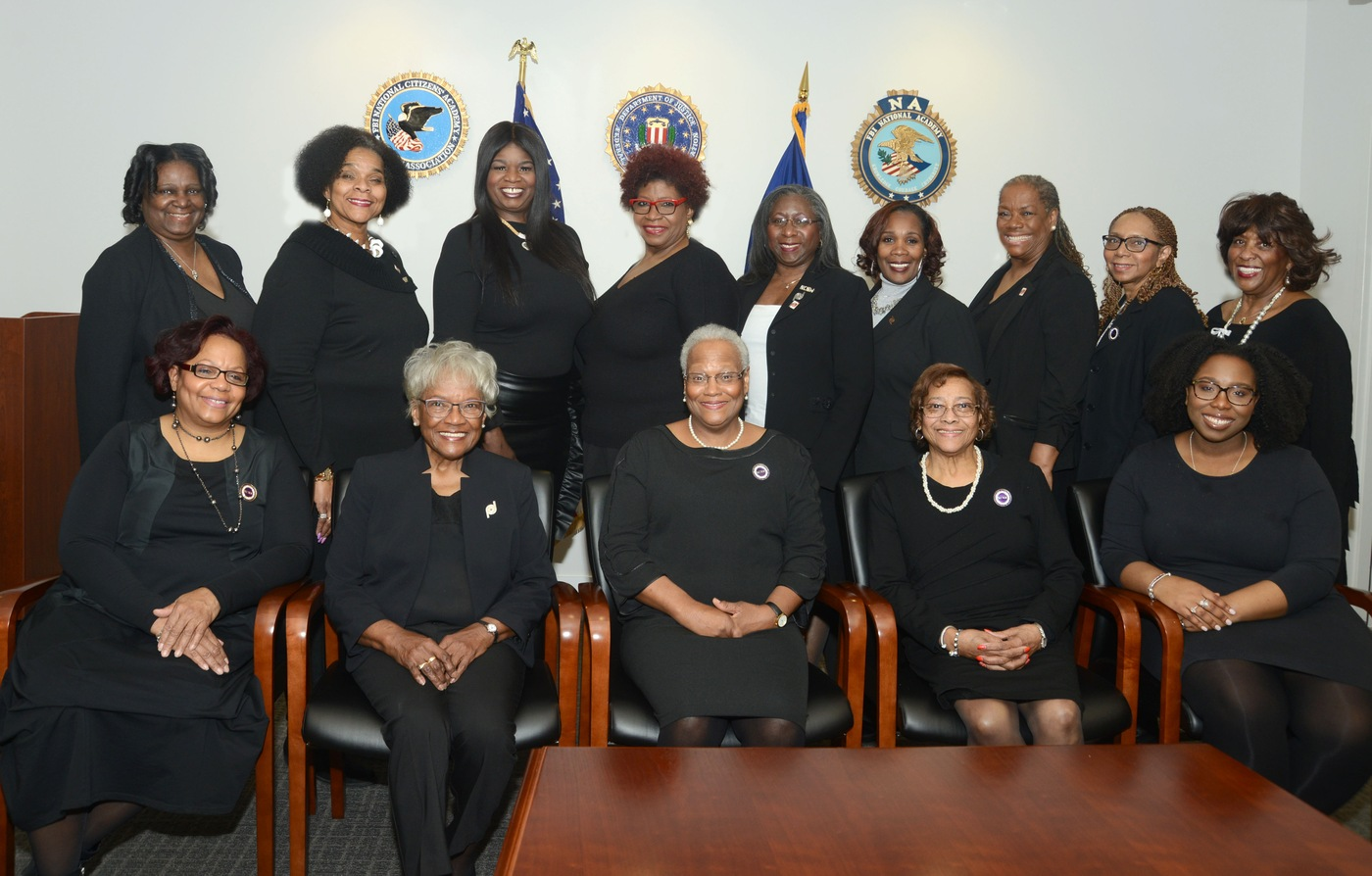 FBI 2019 Director's Community Leadership Award recipient, the National Council of Negro Women, Detroit Section.