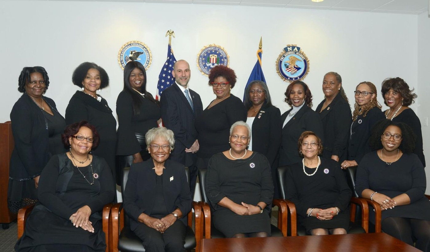 Detroit Section of the National Council of Negro Women Named Recipient of FBI Director's Community Leadership Award for 2019