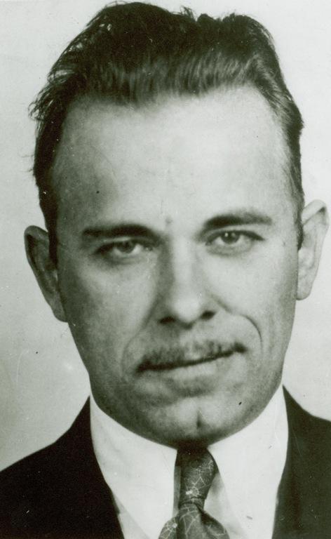 John Dillinger in the 1930s