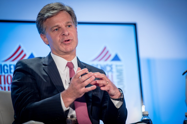 Director Christopher Wray at INSA Summit