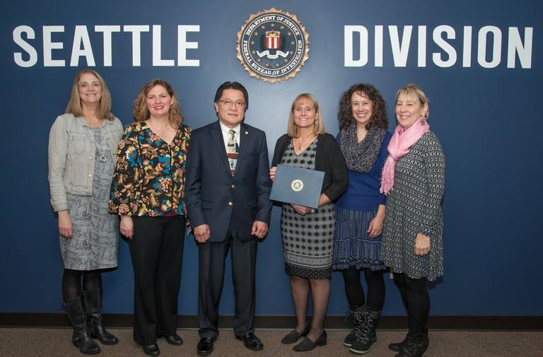 FBI Honors Dedicated Tukwila Leader