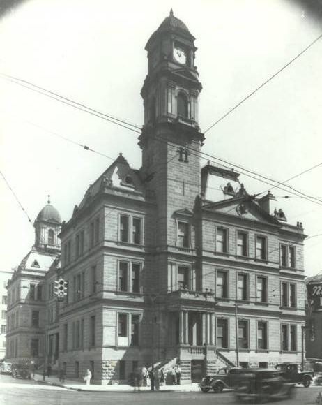 "The ""Old"" Dallas Federal Building and Post Office, circa 1930s, from Commerce and S. Ervay looking northeast. The FBI's first home in Dallas was on the second floor, 1914-1927."
