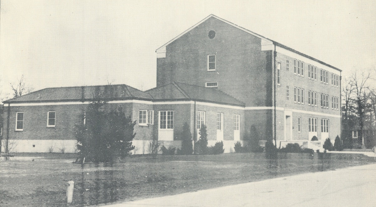 Early FBI Academy Facility