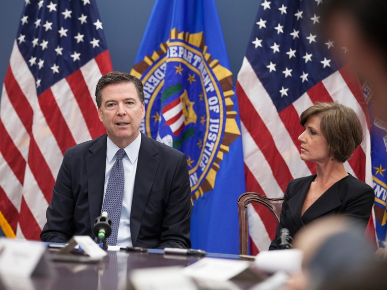 Comey and Yates Speak at Press Briefing on Orlando Shooting