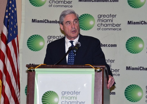 Director Mueller Addresses Miami Chamber of Commerce