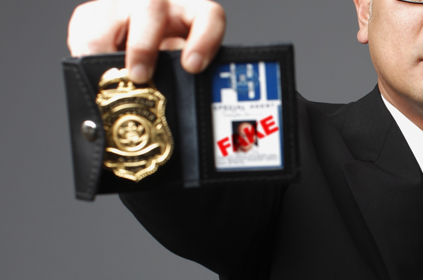 FBI impersonator (Stock Image)