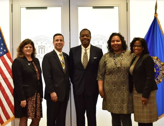 The FBI Norfolk Field Office selected the Hampton Roads Diversity and Inclusion Consortium (HRDIC) as their nominee for a 2019 FBI Director's Community Leadership Award for their commitment to promoting civil rights and inclusion in Hampton Roads.
