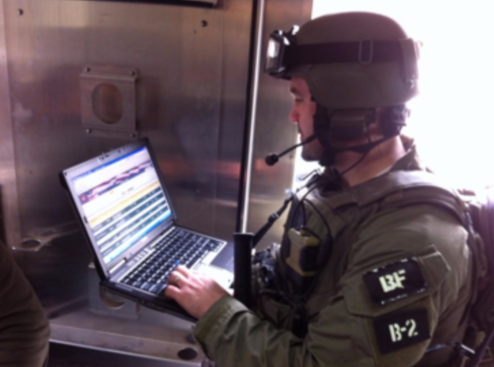 FBI SWAT Member Uses Virtual Command Center (VCC)