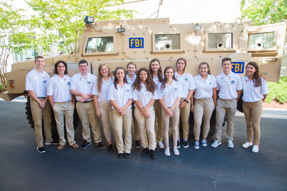 FBI Tampa Future Agents in Training class of 2018