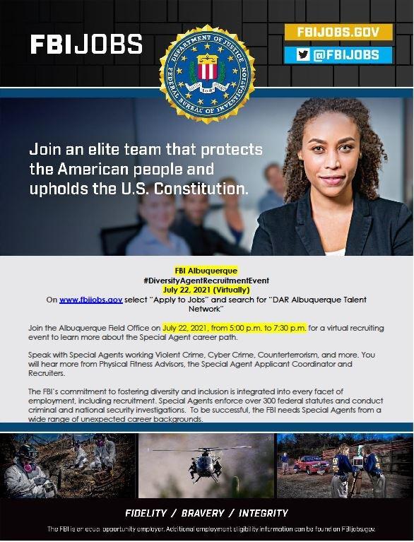 FBI Albuquerque Recruitment