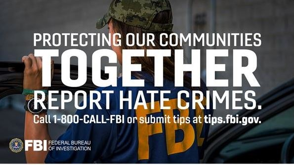 FBI Los Angeles Hate Crime Ad