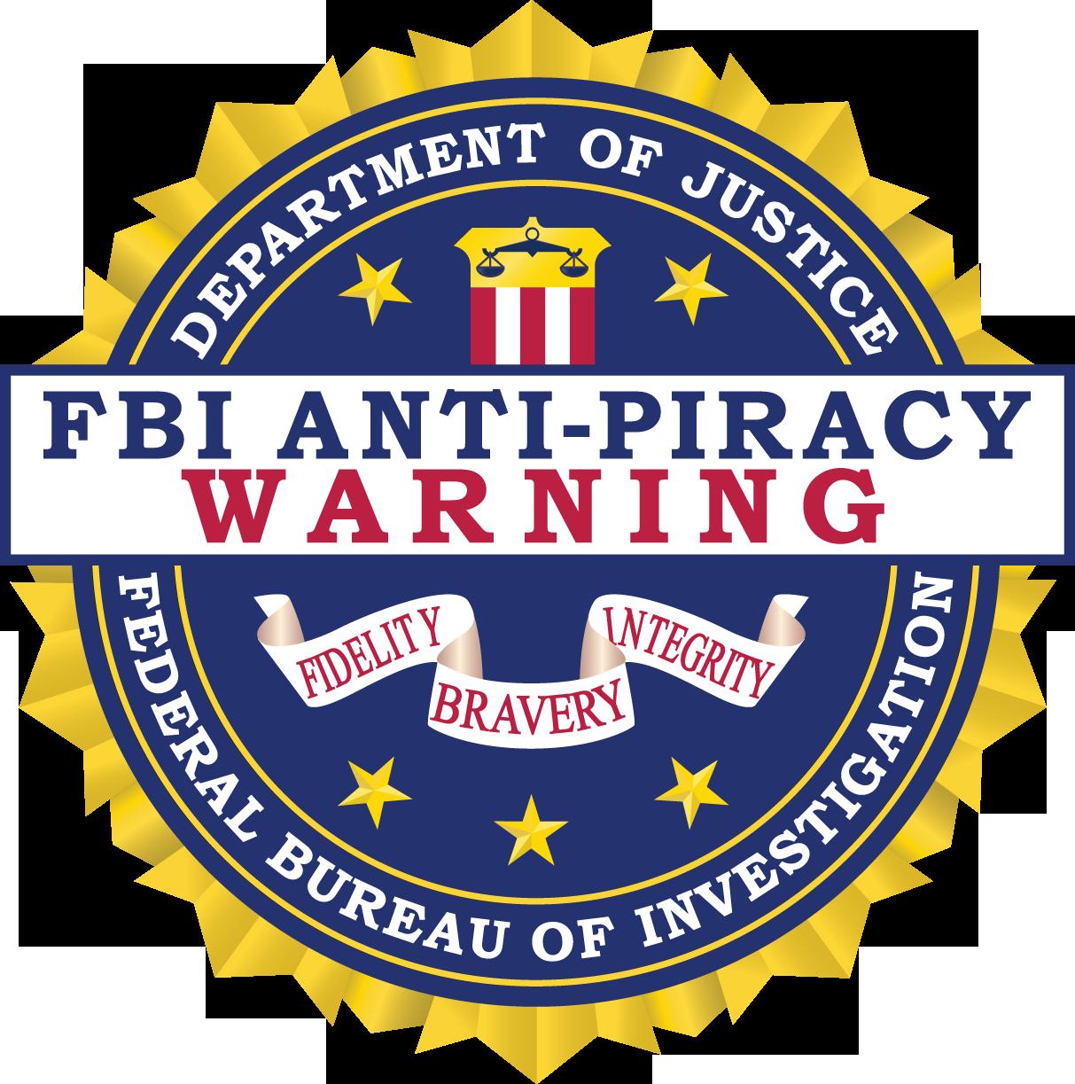 fbi antipiracy warning seal � fbi