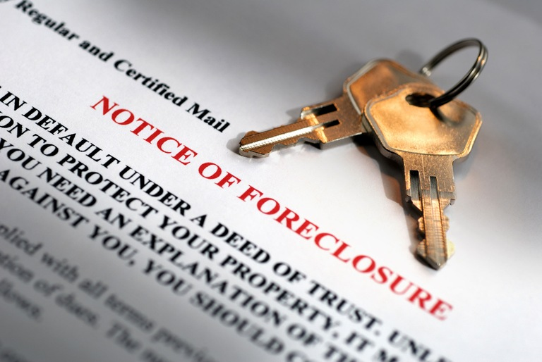 Foreclosure Notice (Stock Image)