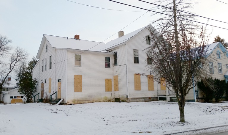 Forfeited Former Drug House in Rutland, Vermont