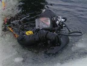 Diver Dry Suit