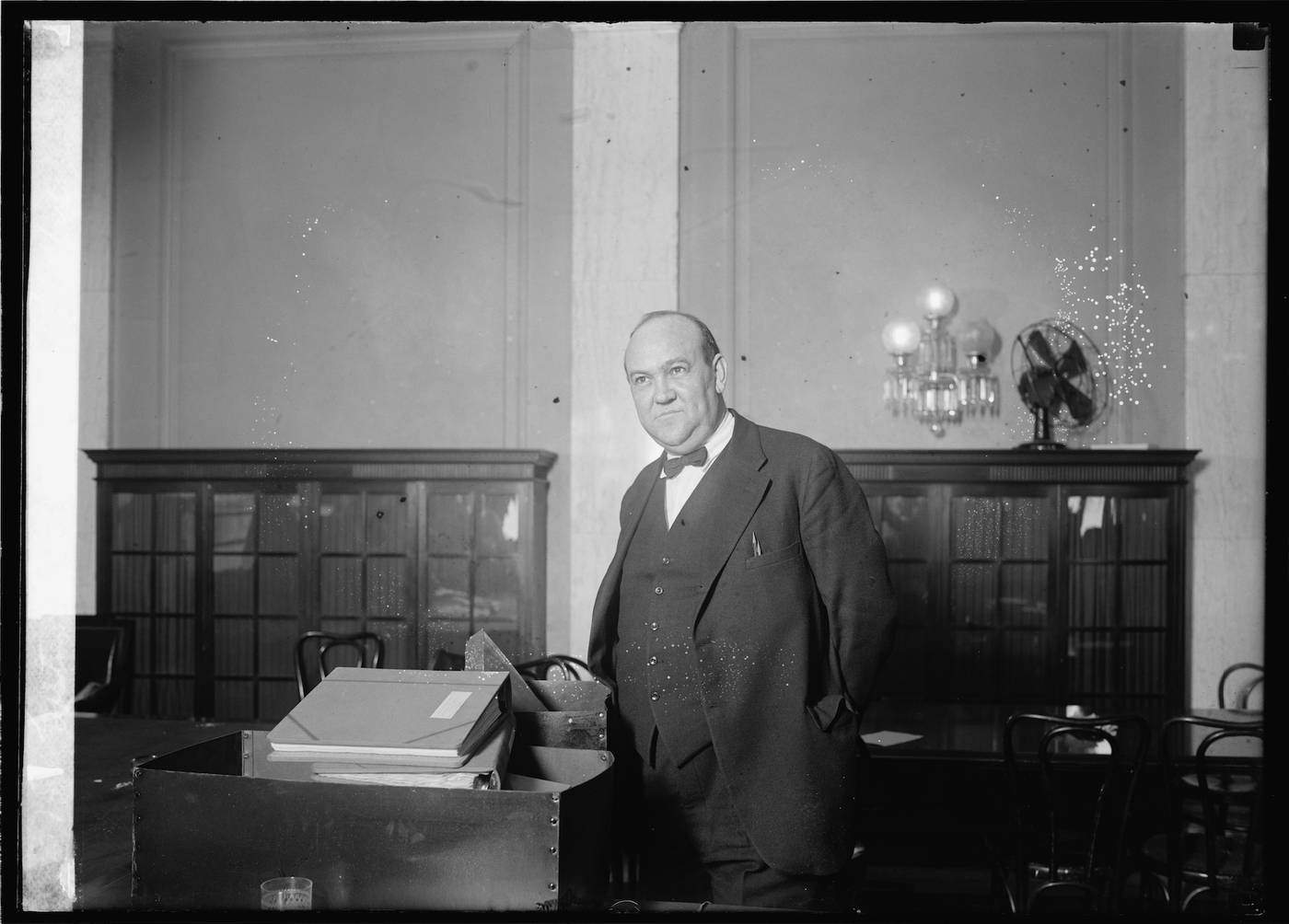 Prohibition-era criminal Gaston Means. Photo credit: Library of Congress