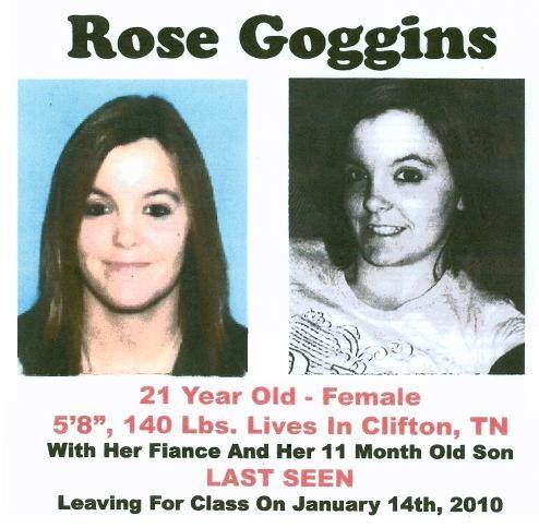 Rose Goggins Missing Poster