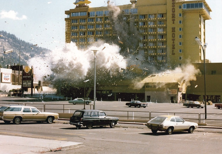After authorities evacuated Harvey's casino and the surrounding area on August 27, 1980, experts attempted to disarm the bomb, but their efforts were unsuccessful, and the bomb exploded. Fortunately, no one was killed or injured in the blast.