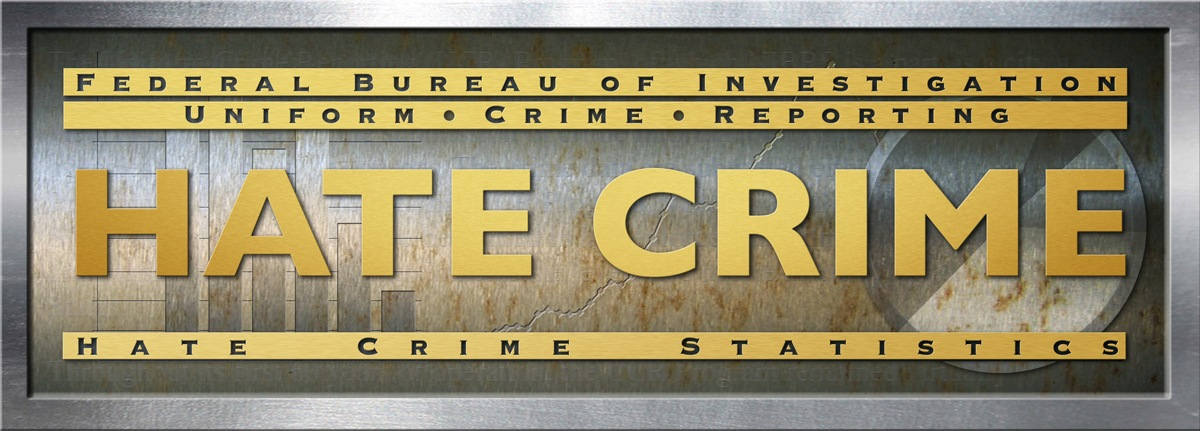 Logo for the FBI's Hate Crime Statistics data collection, part of the Uniform Crime Reporting (UCR) program.
