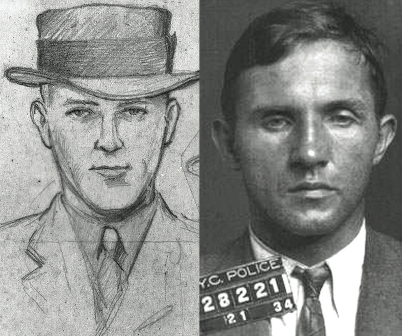"A series of ransom notes following the kidnapping of the Lindbergh baby led to a meeting between Dr. John Condon, a representative of the Lindbergh family, and a mysterious man named ""John."" An artist sketch of ""John"" was developed from the verbal description of Dr. Condon and proved to be very similar to Bruno Richard Hauptmann, who was ultimately arrested on September 19, 1934 following a massive investigation led by the New Jersey State Police and supported by the FBI."