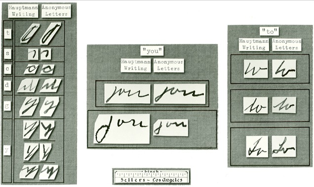 A painstaking analysis of Hauptmann's handwriting by the Bureau's new crime lab showed a remarkable similarity between the lettering of the author of the ransom notes and of Hauptmann. This evidence proved valuable in helping to convict Hauptmann of the murder.