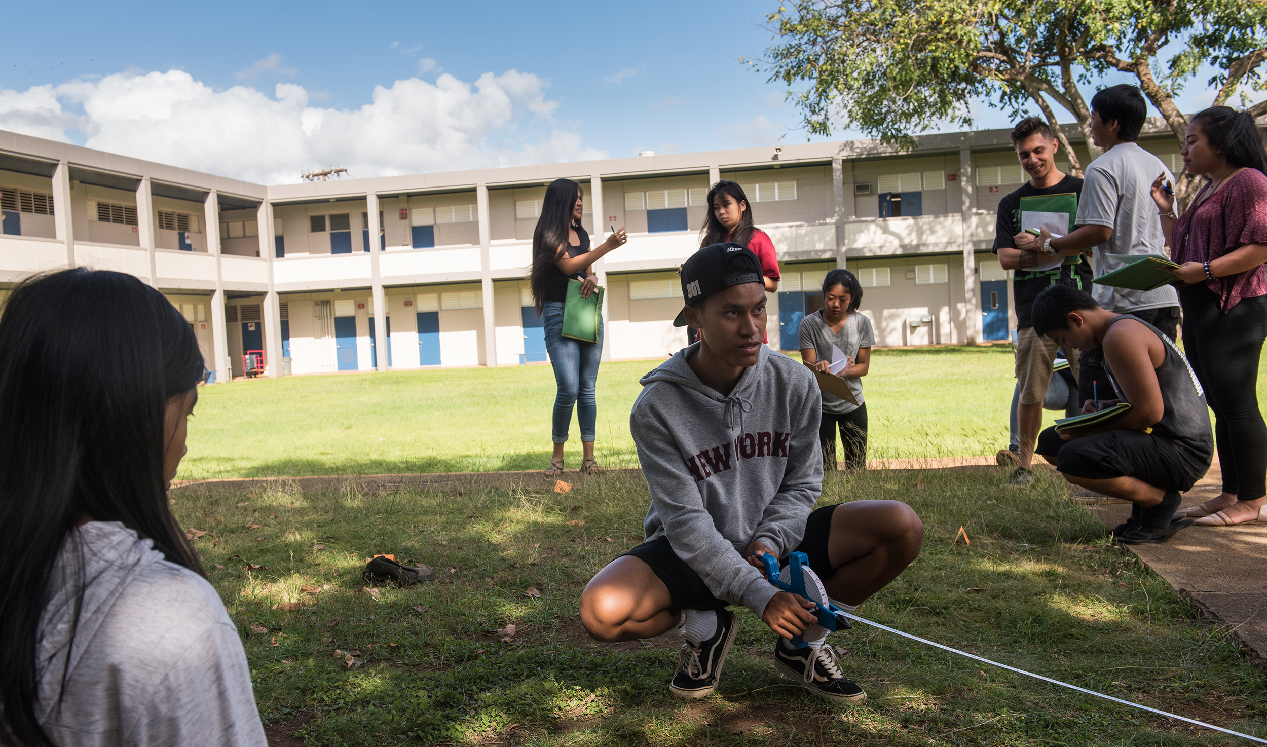 FBI Honolulu Adopt-a-School: Waipahu High School Students