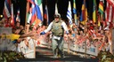 FBI Honolulu Supervisory Special Agent Edward Ignacio in Kona Ironman World Championships