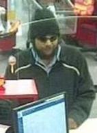 Houston Bank Robbery Suspect, Photo 2 of 2 (5/14/14)