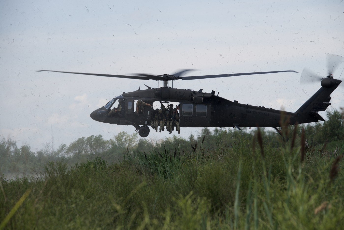HRT Training: Black Hawk Delivers Team