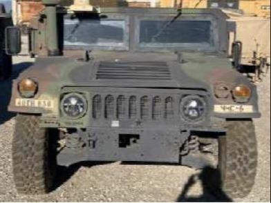 Stolen Humvee Front