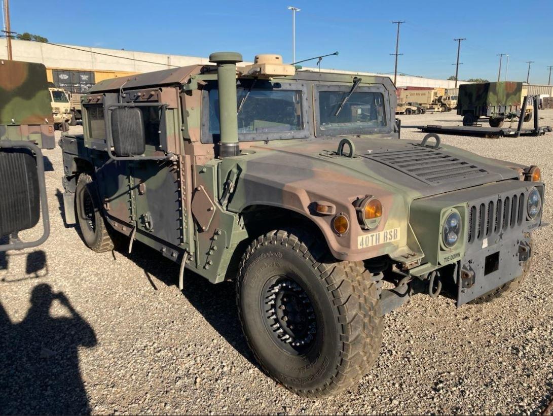 Full picture of Stolen Humvee