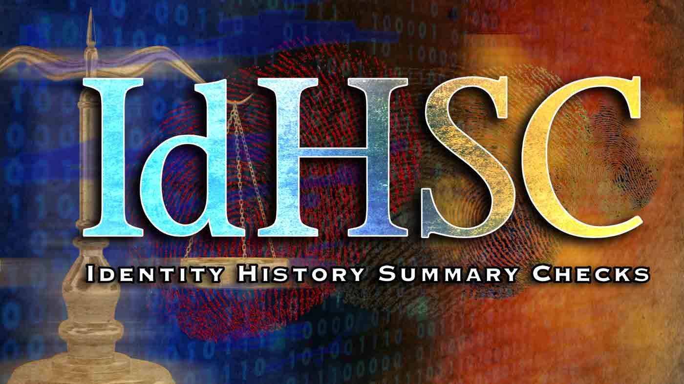 Identity History Summary Checks Fbi