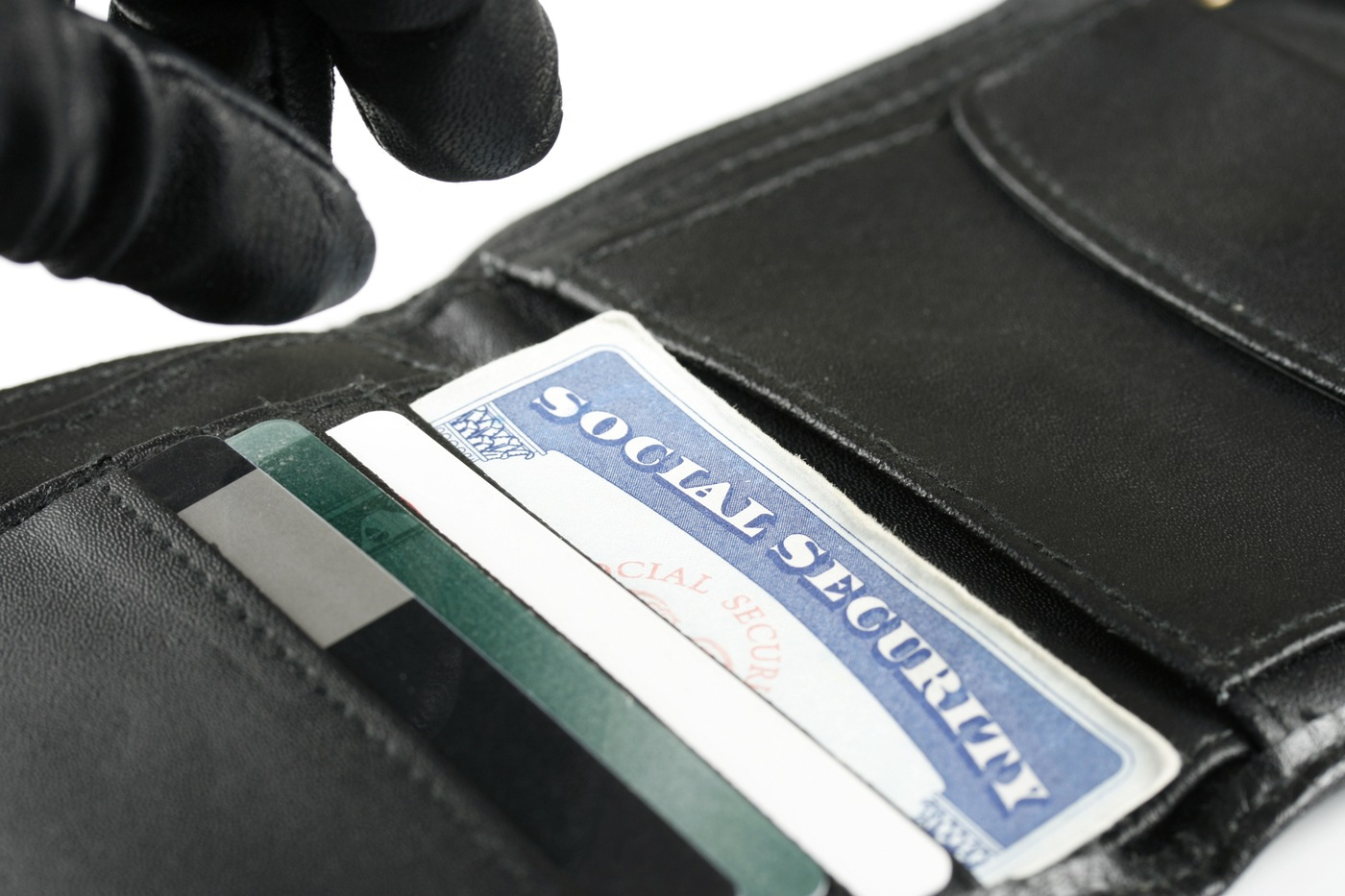 Identity Theft Wallet Thief