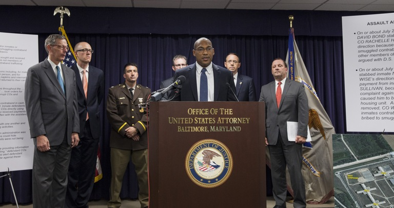 Gordon Johnson, special agent in charge of the FBI's Baltimore Field Office
