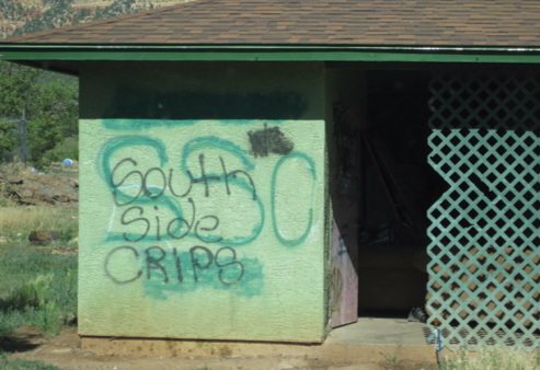 Urban gangs such as the Norteños and Sureños associate and/or influence the gang culture on several Indian Reservations.