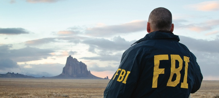 FBI Agent in New Mexico (Landscape View)