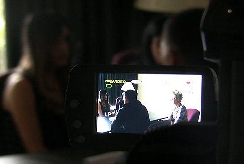 Viewfinder Image of Forensic Interview