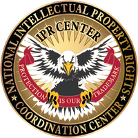 Logo of the National Intellectual Property Rights Coordination Center.