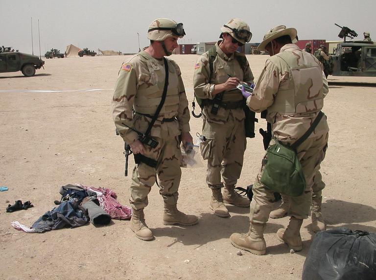 FBI Agents in Kuwait in 2003