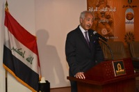 Iraqi Ambassador to the U.S. Shakir Mahmood Sumaida'ie Speaks at Press Conference