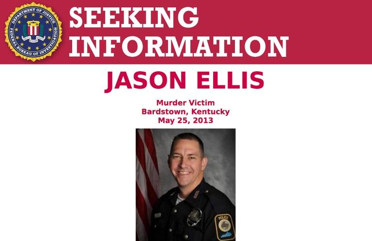 Screenshot of top portion of Seeking Information poster for Jason Ellis