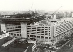 FBI Headquarters Building Under Construction (Adding Top Section)