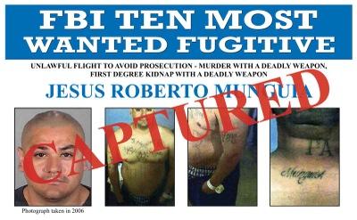 Wanted by the FBI: Top Ten Fugitive Jesus Roberto Munguia