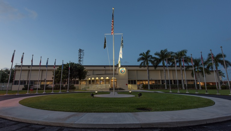 The Joint Interagency Task Force South, or JIATF-S, is located in Key West, Florida.