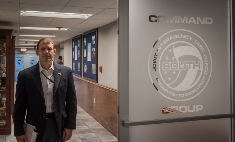Special Agent Brett Chianella is vice director of JIATF-S.