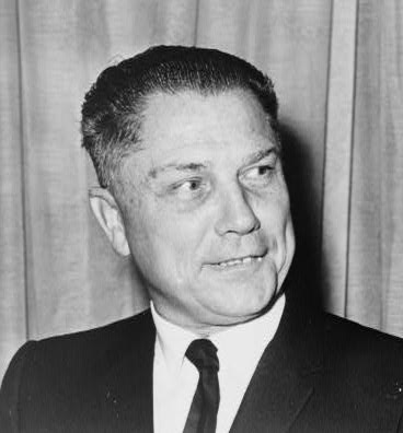 Teamsters President James Hoffa disappeared in 1975 and has never been found. Library of Congress photo.