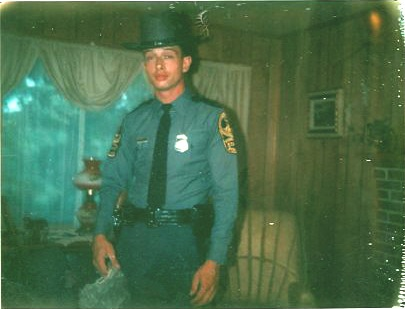 Undated photo of Virginia State Police Trooper Johnny Bowman in uniform. Bowman was murdered at his home on August 19, 1984; the case remains unsolved.
