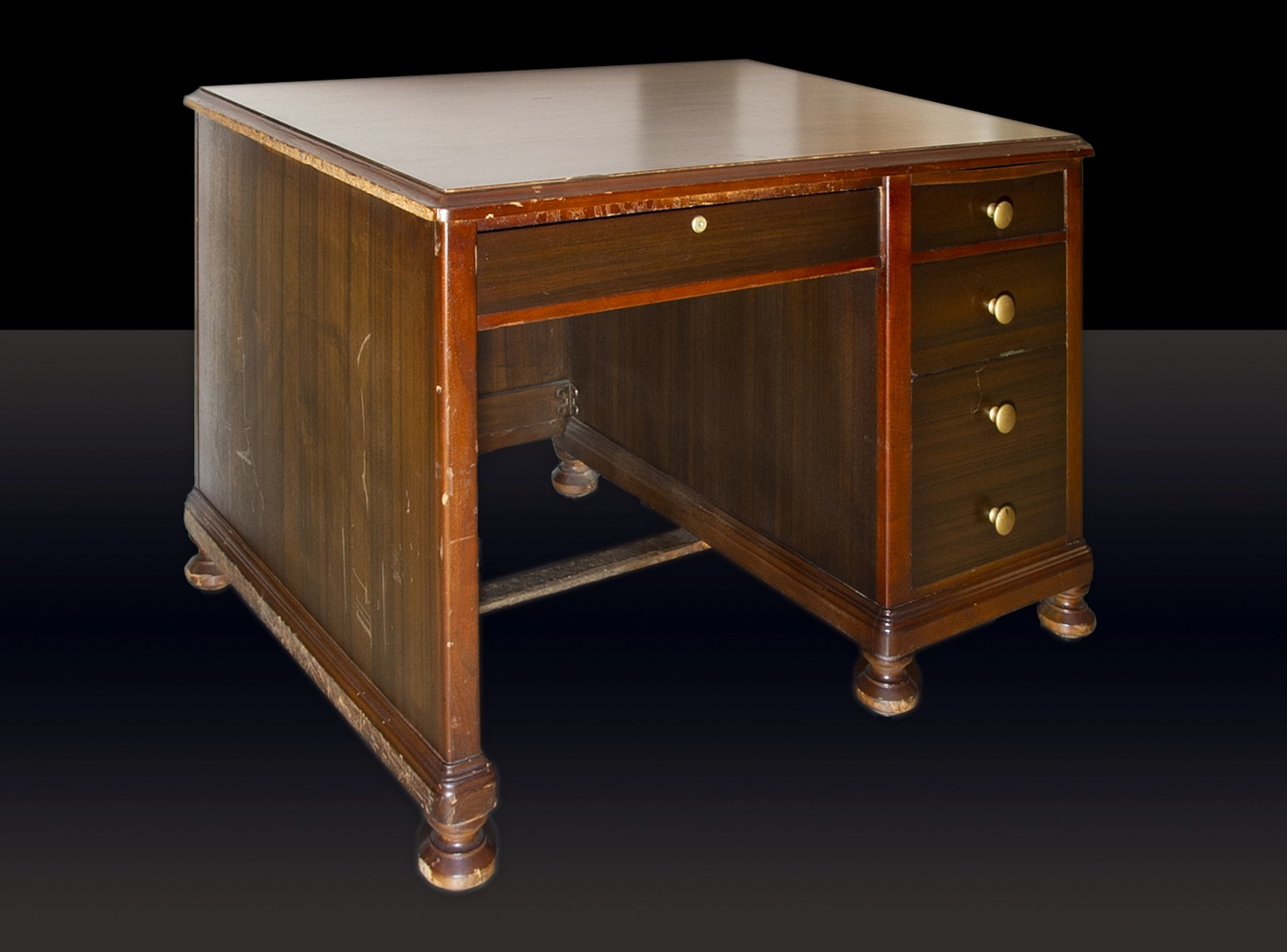The FBI's June Artifact of the Month is a desk used during the trial of Nazi saboteurs in the 1940s.