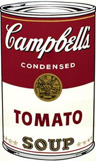 Andy Warhol Campbell's Soup Screen Print (Tomato)