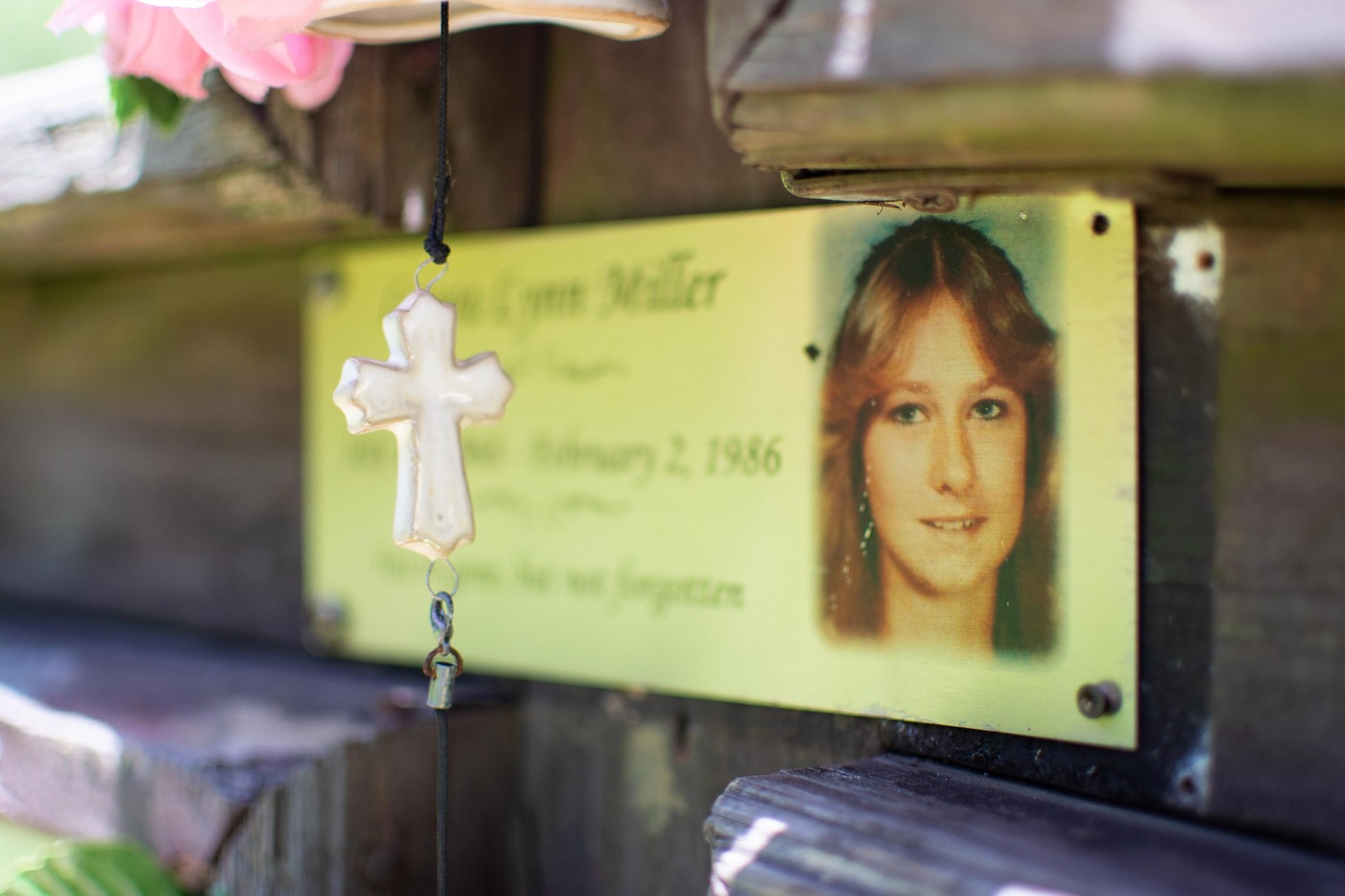 Killing Fields: Marker for Laura Miller